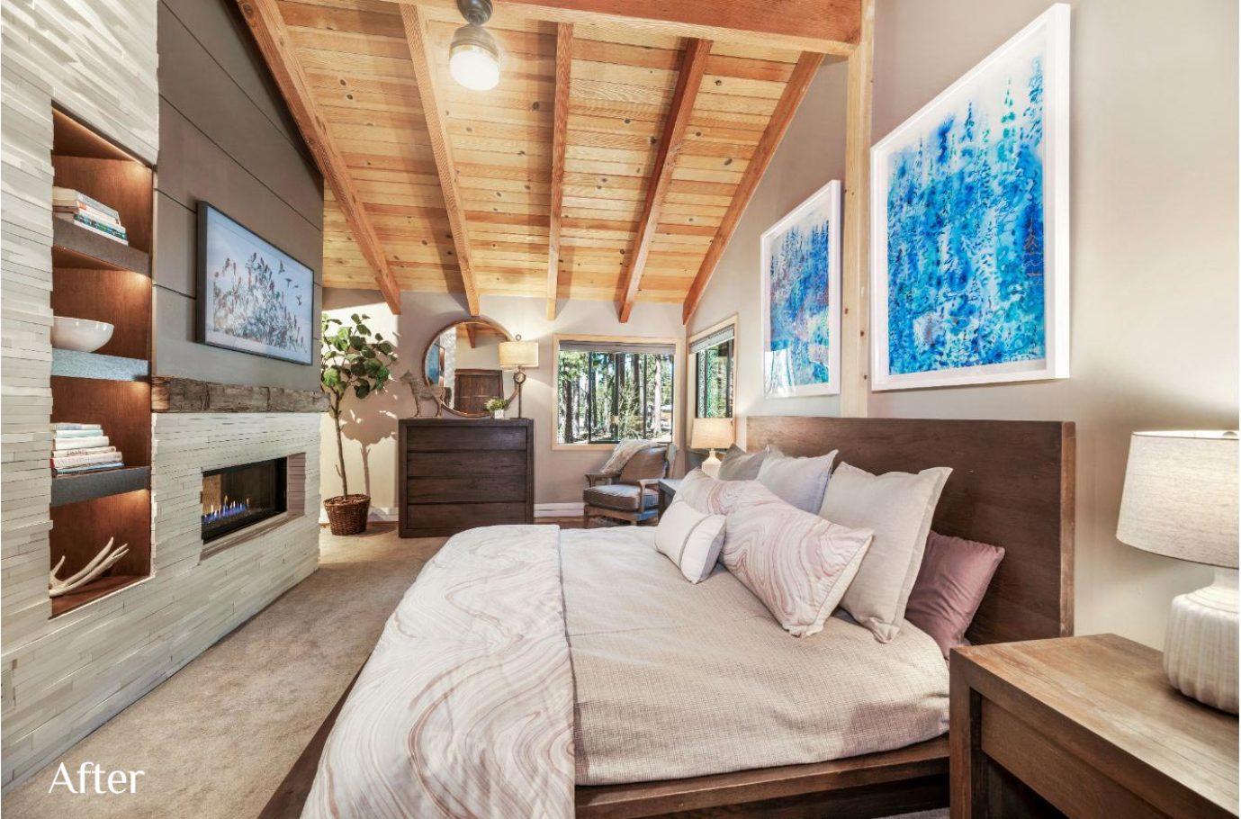 Master Bedroom Design after Talie Jane Interiors