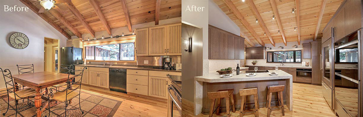 Wilde Kitchen before and after - Talie Jane Interiors