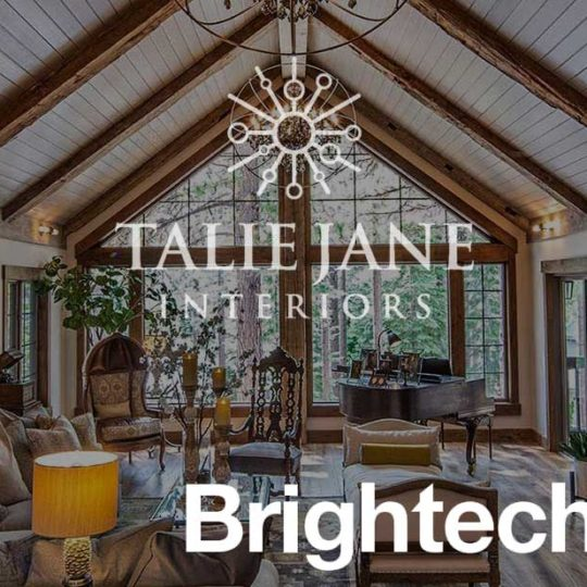 Talie Jane Interiors featured as Brighttech's Top 20 Interior Designers in Reno!