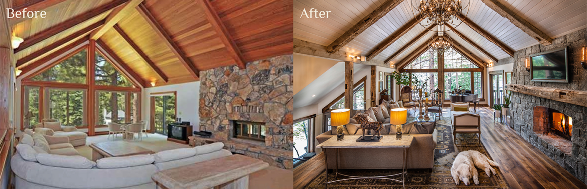 Tahoe Quarterly - Best Remodel of 2020 - Talie Jane Interiors