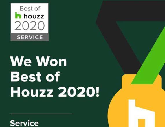 Houzz Best Service Award - Talie Jane Interiors