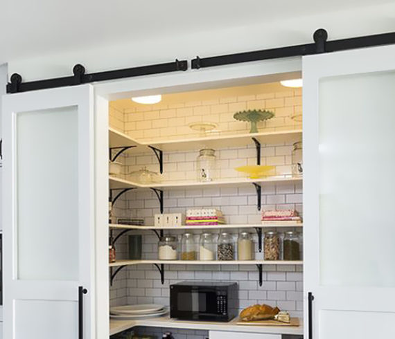 Creative Solutions to Kitchen Storage - Talie Jane Interiors