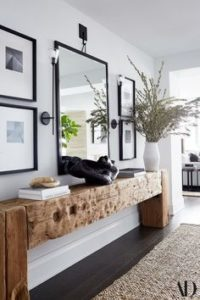 Creating the Feel of a Formal Entry Way - Talie Jane Interiors