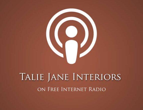 Talie Jane Interiors featured on Free Internet Radio