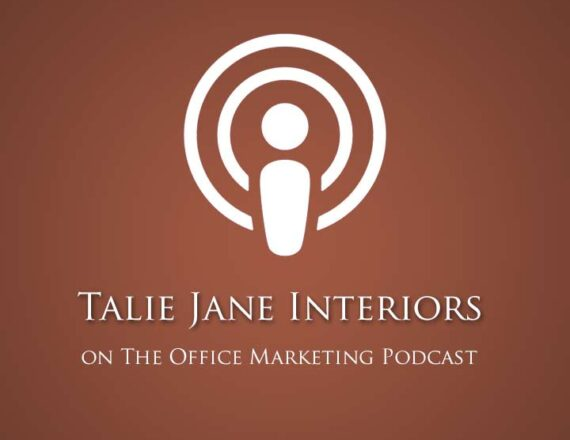Talie Jane Interiors featured on The Office Marketing Podcast