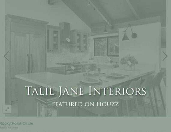 Talie Jane Featured on Houzz - 9 Green Paint Colors to Consider for Your Kitchen